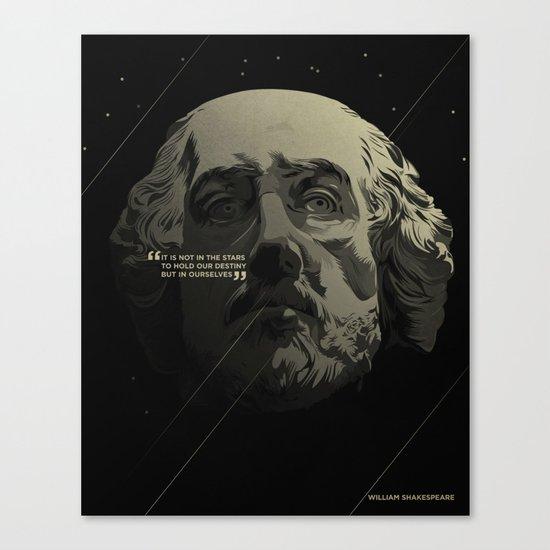 Shakespeare / Destiny Canvas Print