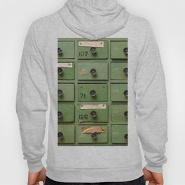 Old wooden cabinet with drawers Hoody