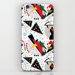 Postmodern Dinner Plates iPhone Skin