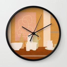 Table Line II Wall Clock