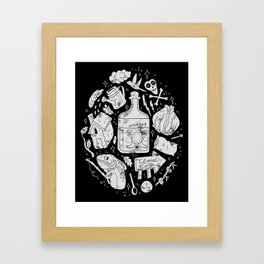 Babes in the Woods Framed Art Print