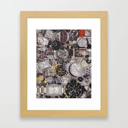 It's About Time Framed Art Print