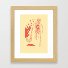 Spicy Framed Art Print