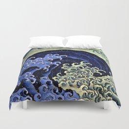 "Hokusai (1760–1849) ""Femenine wave"" Duvet Cover"