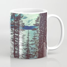 Crater Lake Vintage Summer Coffee Mug