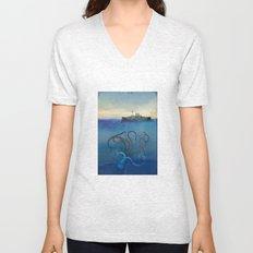 Sea Monster Unisex V-Neck