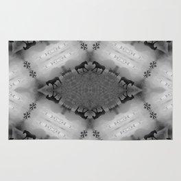 Wild Horses Kaleidoscope Photographic Pattern #2 Rug