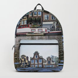 Dancing Houses of Amstedam Backpack