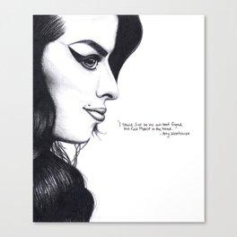Winehouse Wisdom Canvas Print