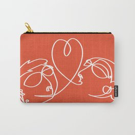 Love in one draw Carry-All Pouch