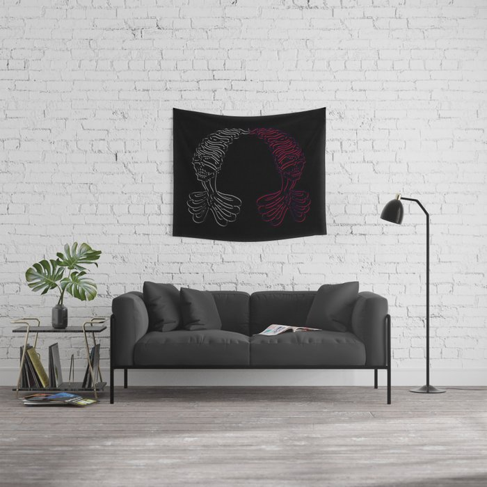 If Only (Heartless) Wall Tapestry