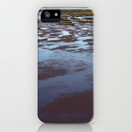 Low Tide at Southport - UK iPhone Case