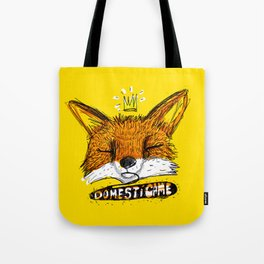 Domestícame: fox Tote Bag