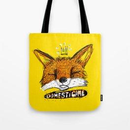 Domestícame: fox Tote Bag