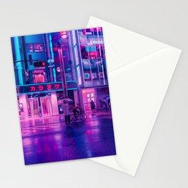 Neon Nostalgia Stationery Cards