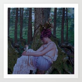 Lady of the Forest Art Print
