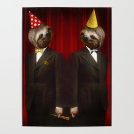 The Legendary Sloth Brothers Poster