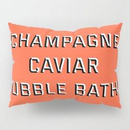 CHAMPAGNE CAVIAR BUBBLE BATHS Pillow Sham