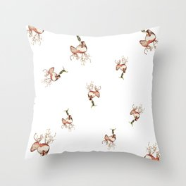 Roots, Shoots and Bulbs. Throw Pillow