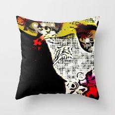 Magic Ninja Throw Pillow