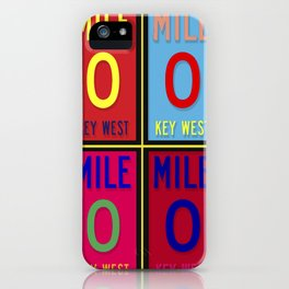 #keywest end of the road iPhone Case