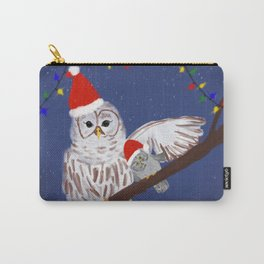 Christmas owls Carry-All Pouch