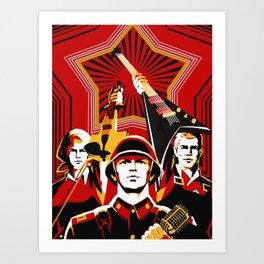 Art print: Propaganda Musik Art Print