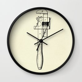 Wrench-1869 Wall Clock