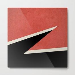 Three colors geometry Metal Print
