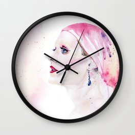 Rayon | Jared Leto in Dallas Buyers Club | Watercolor Portrait Wall Clock