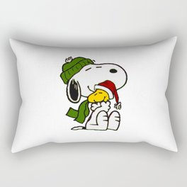 Christmas snoopy Rectangular Pillow