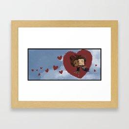 Lots of Love Framed Art Print