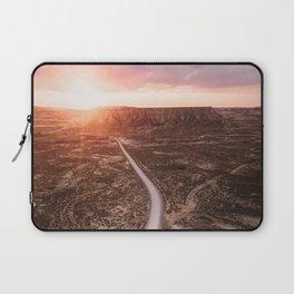Road in the desert Laptop Sleeve