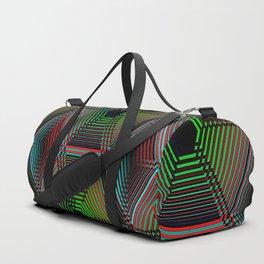 Hypnotic Geometric - Dark Duffle Bag