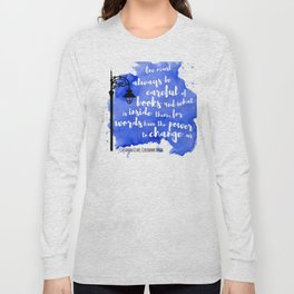 WORDS HAVE THE POWER TO CHANGE US | CASSANDRA CLARE Long Sleeve T-shirt