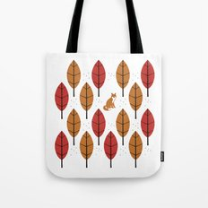 Autumn Fox Tote Bag