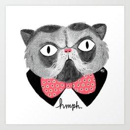 Hmph. Art Print