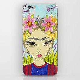 Flores de Frida iPhone Skin