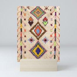 N15 - Oriental Traditional Bohemian Moroccan Artwork. Mini Art Print