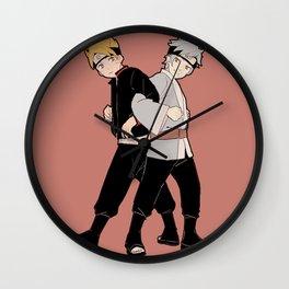Boruto with Mitsuki Wall Clock