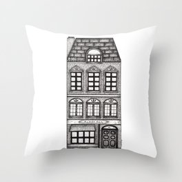 dutch building Throw Pillow