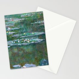 Water Lilies Claude Monet 1904 Stationery Cards