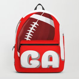 Game On Football America Game Injury Gift Backpack
