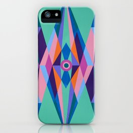 Sacred Geometric Triad iPhone Case