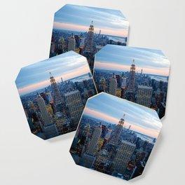 New York City Dusk Coaster