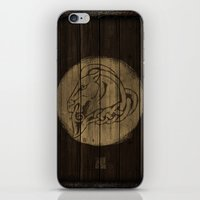 skyrim iPhone & iPod Skins featuring Shield's of Skyrim - Whiterun by VineDesign