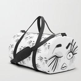 Weird Faces - Blink! Duffle Bag