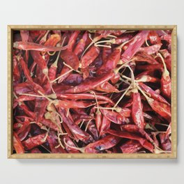 Chili Chipotle red hot Serving Tray