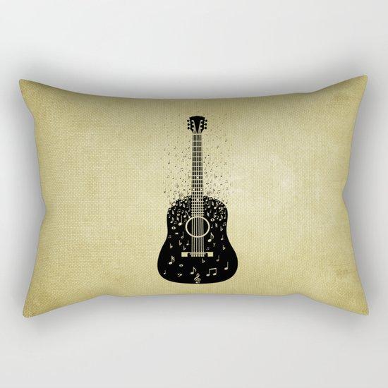 Musical ascension Rectangular Pillow