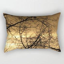 Hour Of Dawn Rectangular Pillow